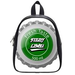 Fresh Taste Fizzy Lime Bottle Cap School Bag (small)