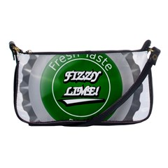 Fresh Taste Fizzy Lime Bottle Cap Shoulder Clutch Bags