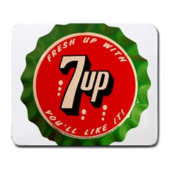 Fresh Up With  7 Up Bottle Cap Tin Metal Large Mousepads