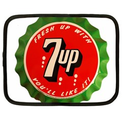 Fresh Up With  7 Up Bottle Cap Tin Metal Netbook Case (xl)