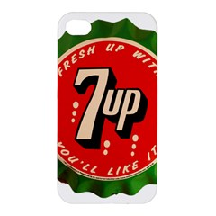 Fresh Up With  7 Up Bottle Cap Tin Metal Apple Iphone 4/4s Hardshell Case