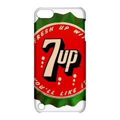 Fresh Up With  7 Up Bottle Cap Tin Metal Apple Ipod Touch 5 Hardshell Case With Stand