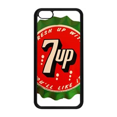 Fresh Up With  7 Up Bottle Cap Tin Metal Apple Iphone 5c Seamless Case (black)