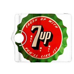 Fresh Up With  7 Up Bottle Cap Tin Metal Kindle Fire Hdx 8 9  Flip 360 Case