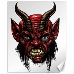 Krampus Devil Face Canvas 16  X 20