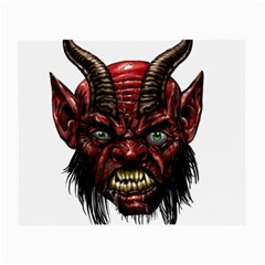 Krampus Devil Face Small Glasses Cloth (2 Side)