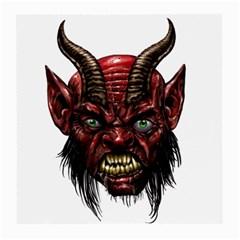 Krampus Devil Face Medium Glasses Cloth