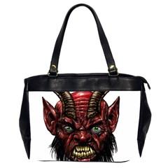 Krampus Devil Face Office Handbags (2 Sides)
