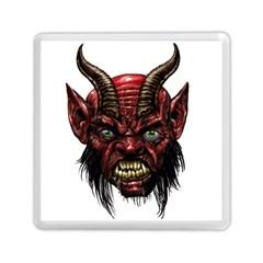 Krampus Devil Face Memory Card Reader (square)