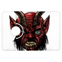 Krampus Devil Face Kindle Fire Hdx Flip 360 Case