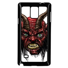 Krampus Devil Face Samsung Galaxy Note 4 Case (black)