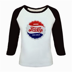 Pepsi Cola Bottle Cap Style Metal Kids Baseball Jerseys