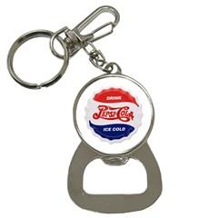 Pepsi Cola Bottle Cap Style Metal Button Necklaces