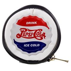 Pepsi Cola Bottle Cap Style Metal Mini Makeup Bags