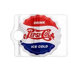 Pepsi Cola Bottle Cap Style Metal Kindle Fire Hd (2013) Flip 360 Case