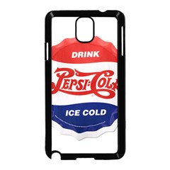 Pepsi Cola Bottle Cap Style Metal Samsung Galaxy Note 3 Neo Hardshell Case (black)