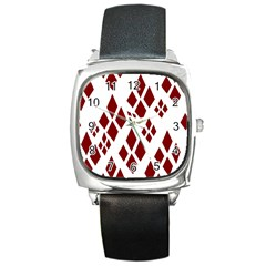Harley Quinn Square Metal Watch