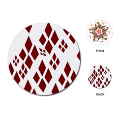 Harley Quinn Playing Cards (round)
