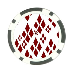 Harley Quinn Poker Chip Card Guard (10 Pack)