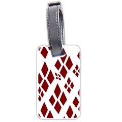 Harley Quinn Luggage Tags (one Side)