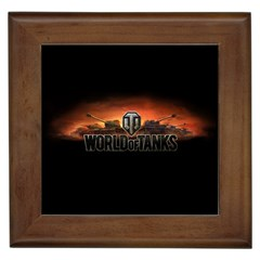 World Of Tanks Framed Tiles