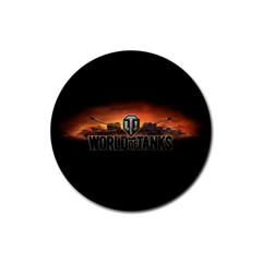 World Of Tanks Rubber Round Coaster (4 Pack)