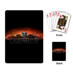 World Of Tanks Playing Card