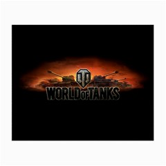 World Of Tanks Small Glasses Cloth (2 Side)