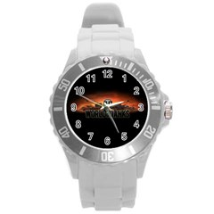World Of Tanks Round Plastic Sport Watch (l)
