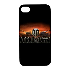 World Of Tanks Apple Iphone 4/4s Hardshell Case With Stand
