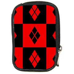 Harley Quinn Logo Pattern Compact Camera Cases