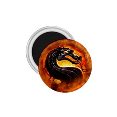 Dragon And Fire 1 75  Magnets