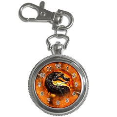 Dragon And Fire Key Chain Watches