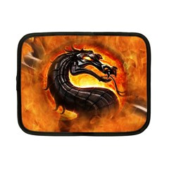Dragon And Fire Netbook Case (small)