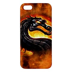 Dragon And Fire Iphone 5s/ Se Premium Hardshell Case