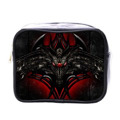 Black Dragon Grunge Mini Toiletries Bags