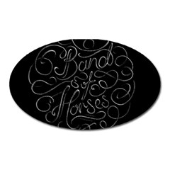 Band Of Horses Oval Magnet