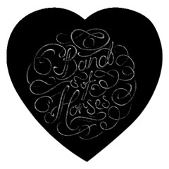 Band Of Horses Jigsaw Puzzle (heart)