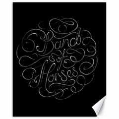Band Of Horses Canvas 16  X 20