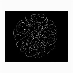 Band Of Horses Small Glasses Cloth (2 Side)