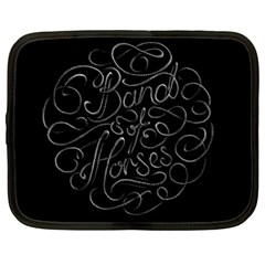 Band Of Horses Netbook Case (xl)