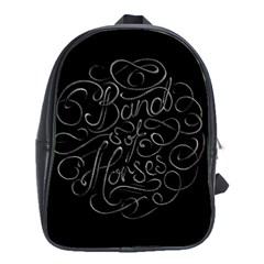 Band Of Horses School Bag (large)