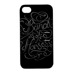 Band Of Horses Apple Iphone 4/4s Hardshell Case With Stand