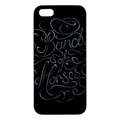 Band Of Horses Iphone 5s/ Se Premium Hardshell Case