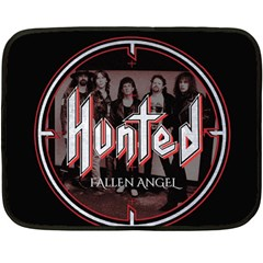 Fallen Angel Hunted Double Sided Fleece Blanket (mini)