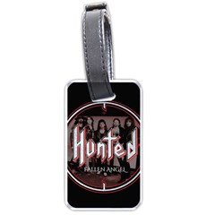 Fallen Angel Hunted Luggage Tags (one Side)