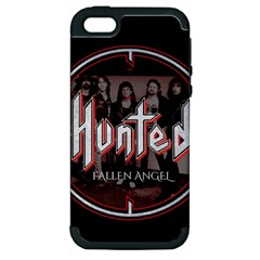 Fallen Angel Hunted Apple Iphone 5 Hardshell Case (pc+silicone)