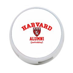 Harvard Alumni Just Kidding 4 Port Usb Hub (one Side)