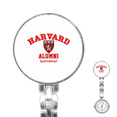 Harvard Alumni Just Kidding Stainless Steel Nurses Watch