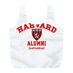 Harvard Alumni Just Kidding Full Print Recycle Bags (l)